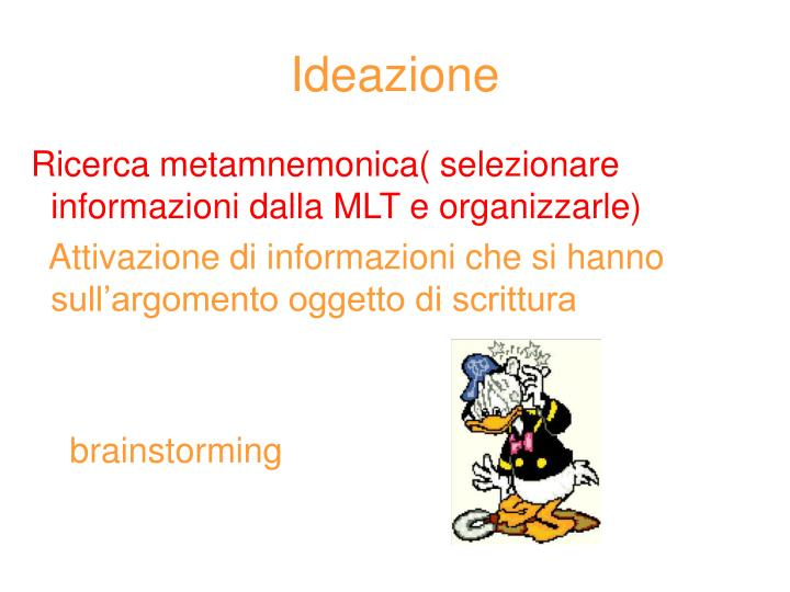 Ideazione