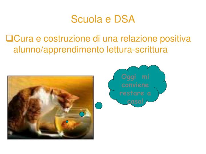 Scuola e DSA