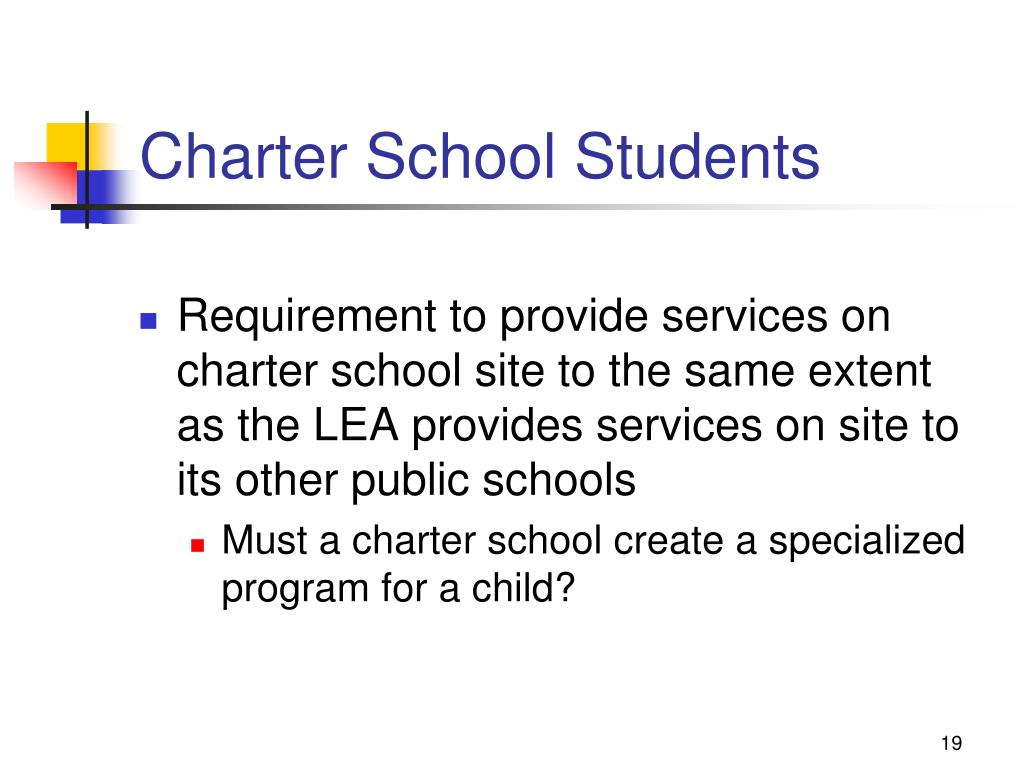 Charter School Students