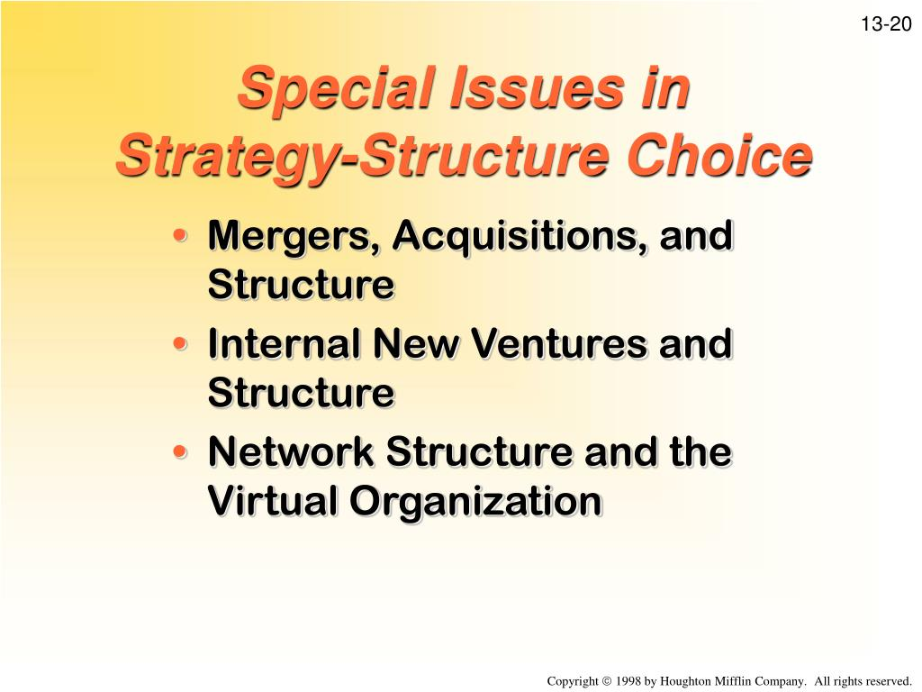 channel structure and strategic choice in Structures and strategies are developing is bringing to a more complex concept of  marketing  in both cases, innovation comes from the choices of firms along.