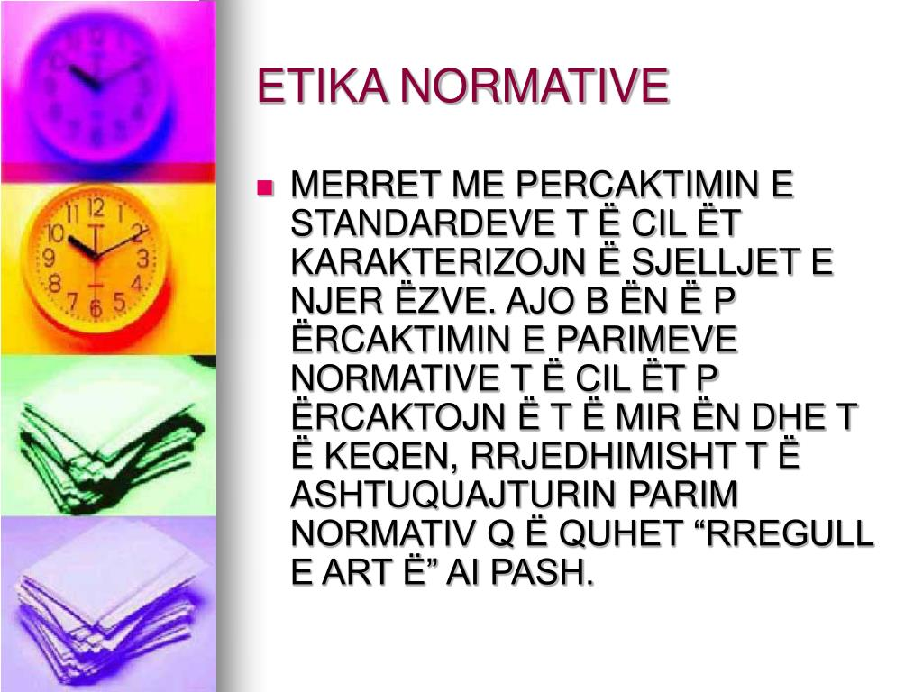 ETIKA NORMATIVE