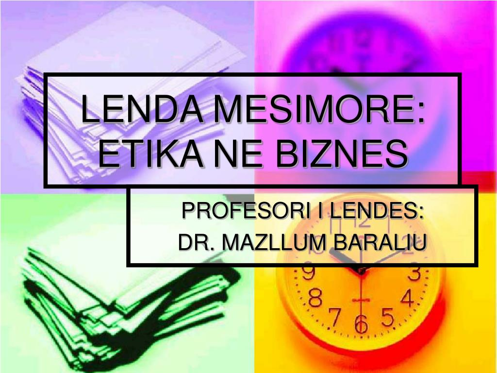 LENDA MESIMORE: