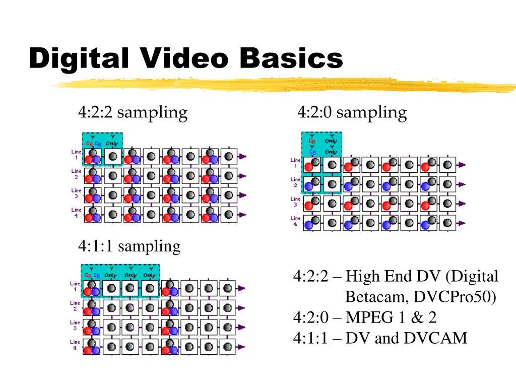 Digital Video Basics