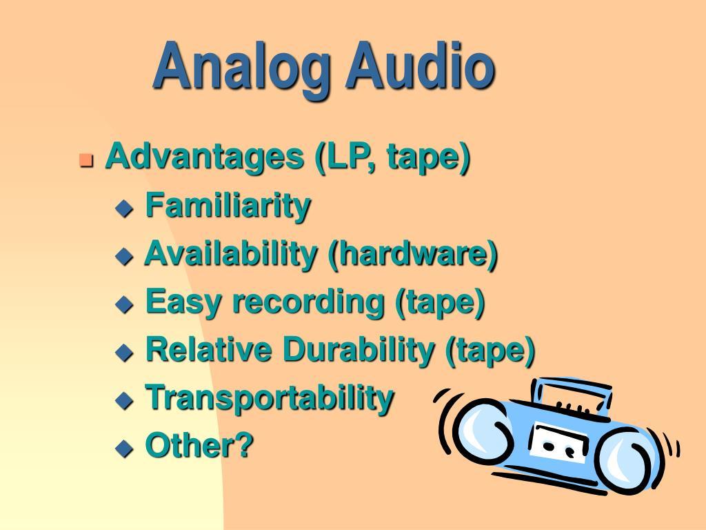 Analog Audio