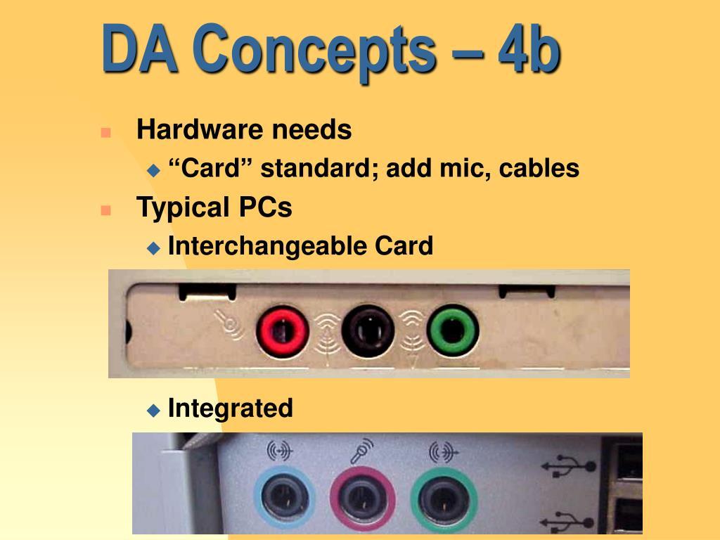 DA Concepts – 4b