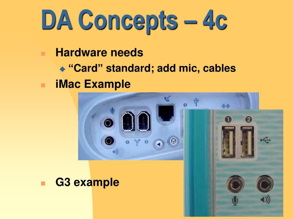 DA Concepts – 4c