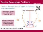 dual number line unitary method