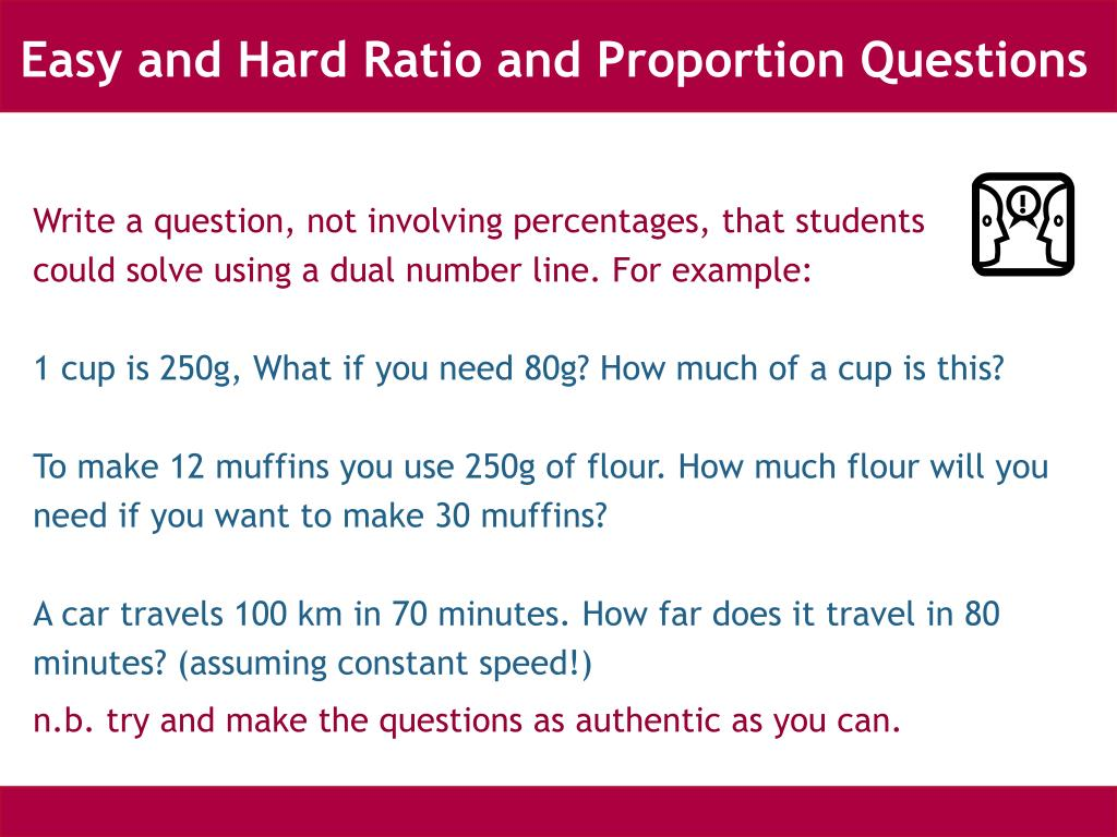 Easy and Hard Ratio and Proportion Questions