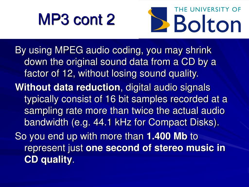 MP3 cont 2