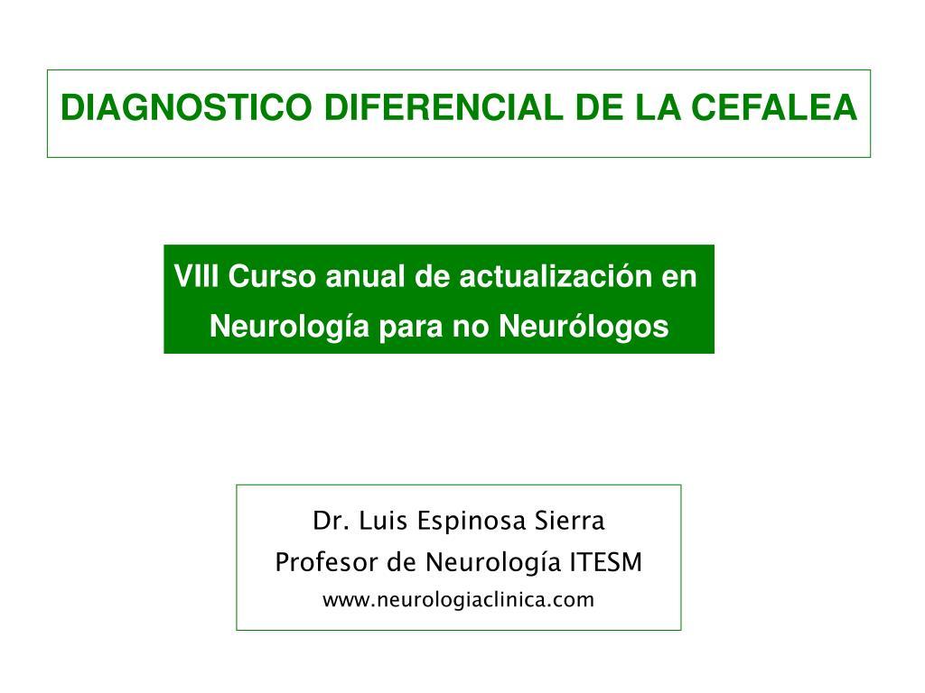 Dr. Luis Espinosa Sierra