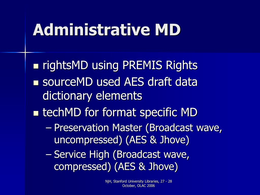 Administrative MD