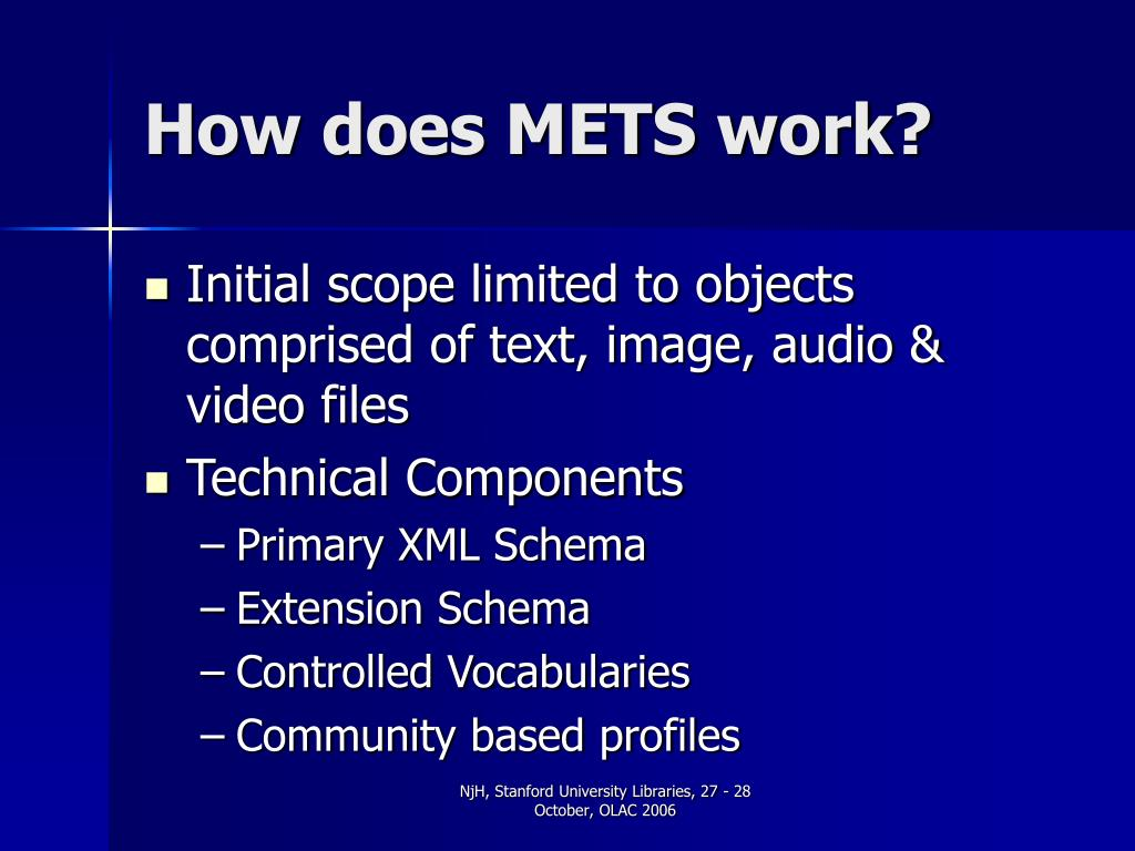 How does METS work?