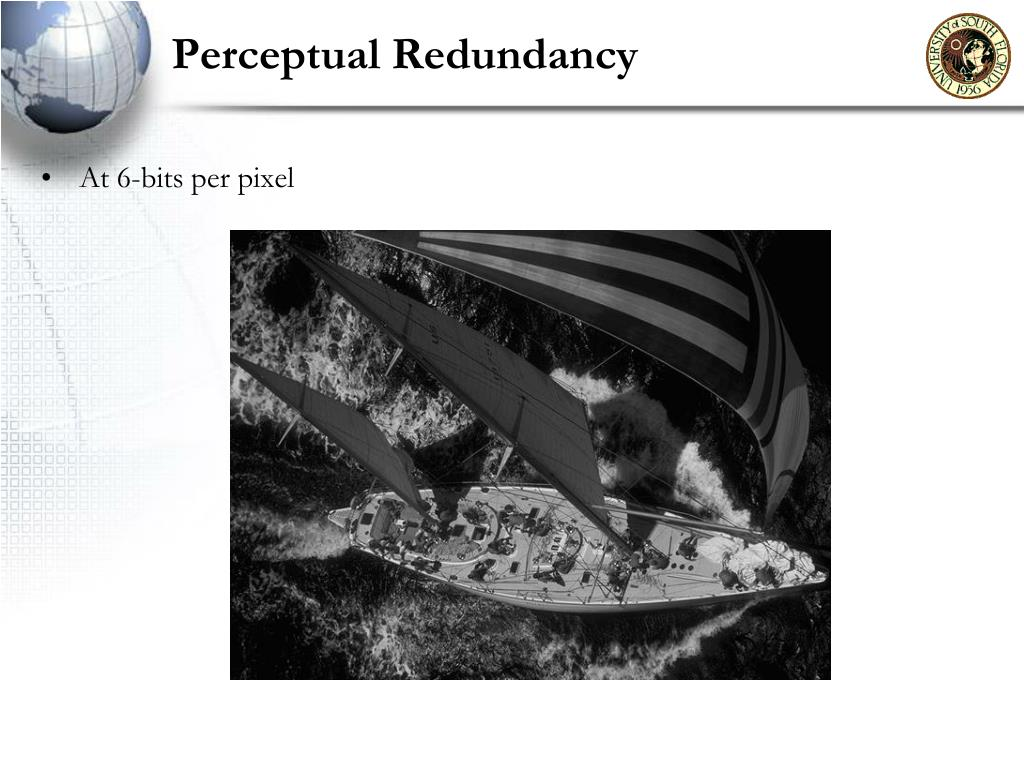 Perceptual Redundancy