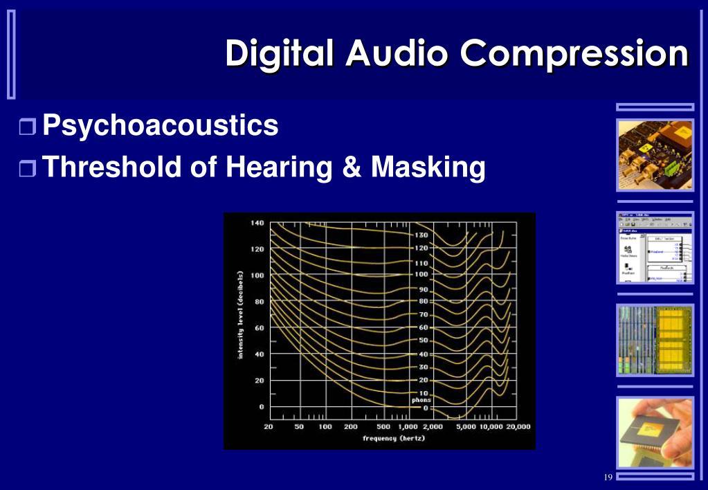 Digital Audio Compression
