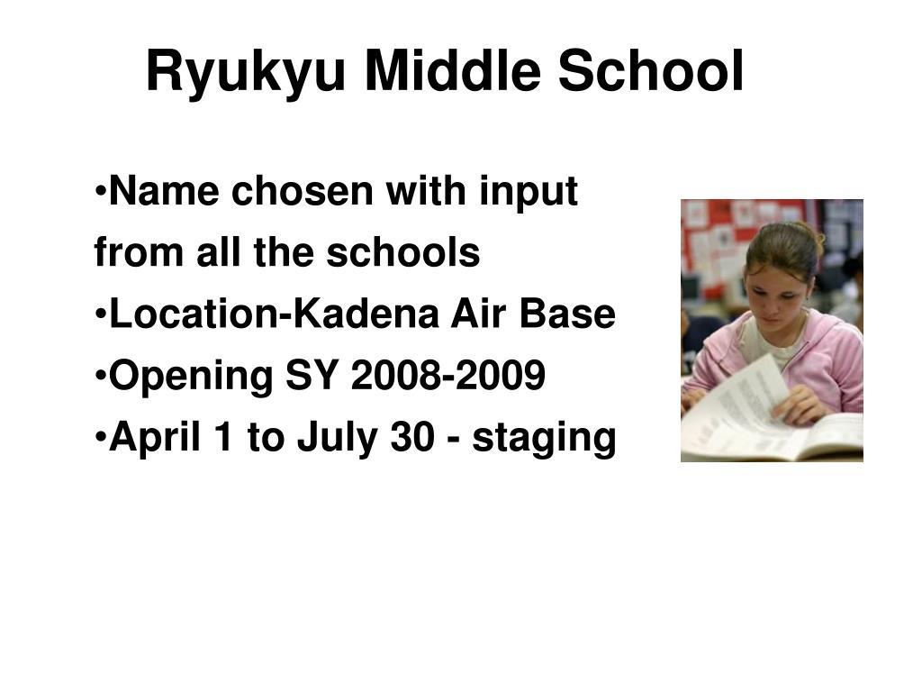 Ryukyu Middle School