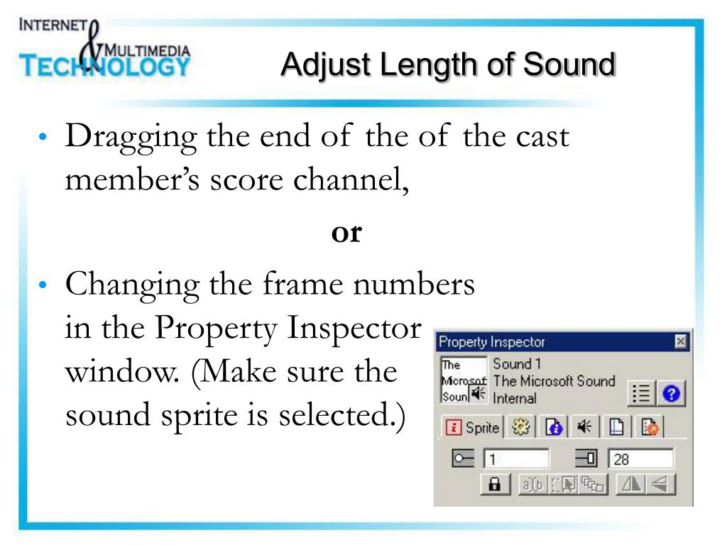 Adjust Length of Sound