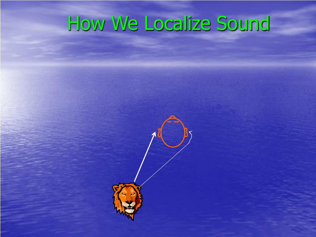 How We Localize Sound