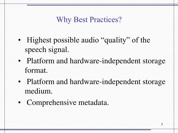 Why best practices3