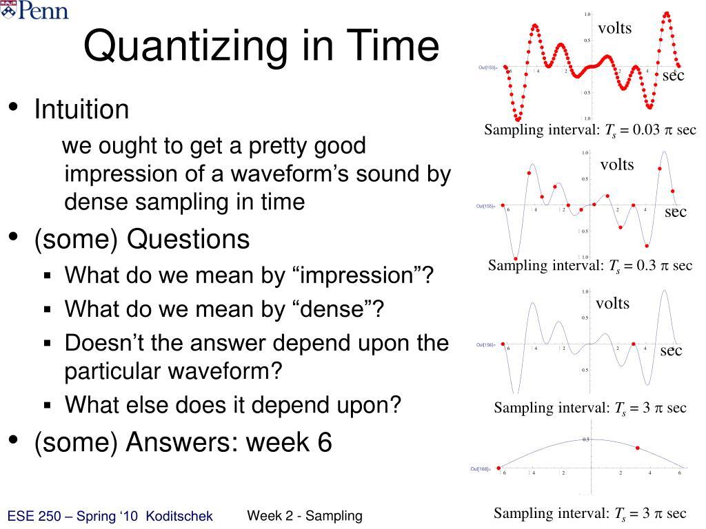 Quantizing in Time