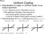 uniform coding