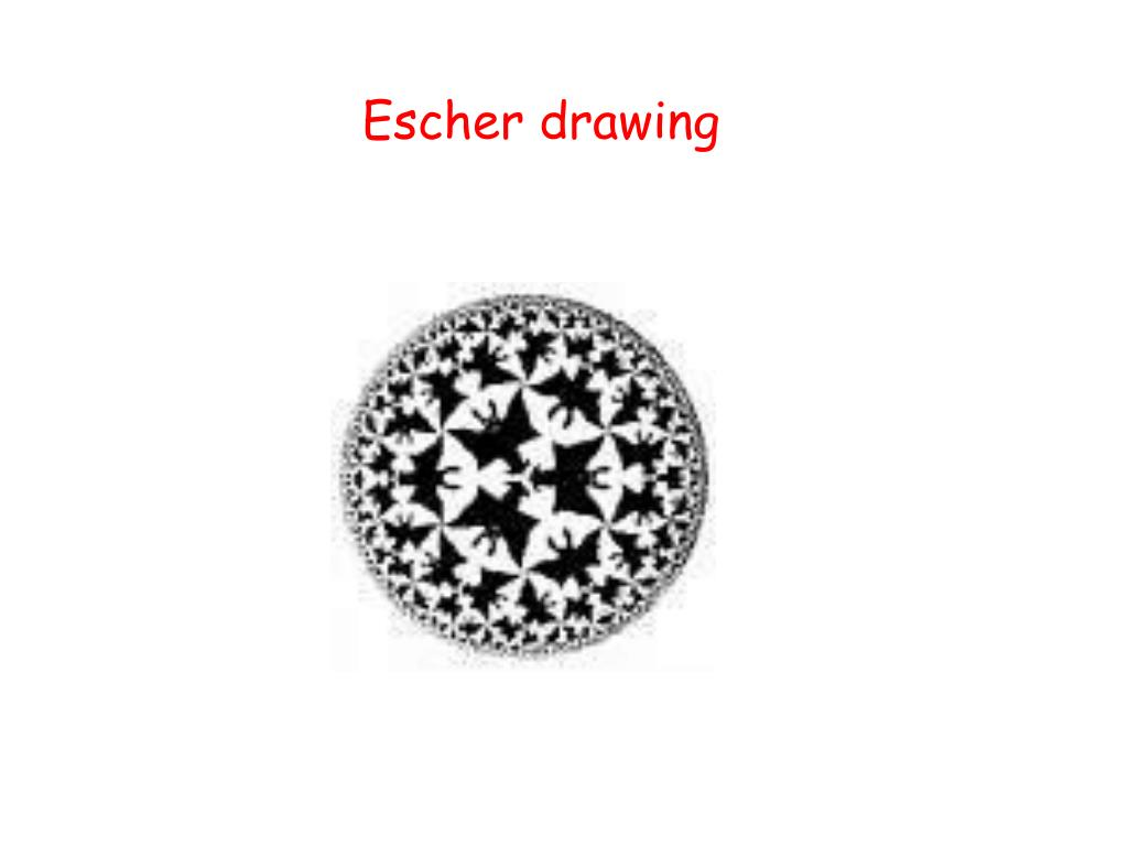 Escher drawing