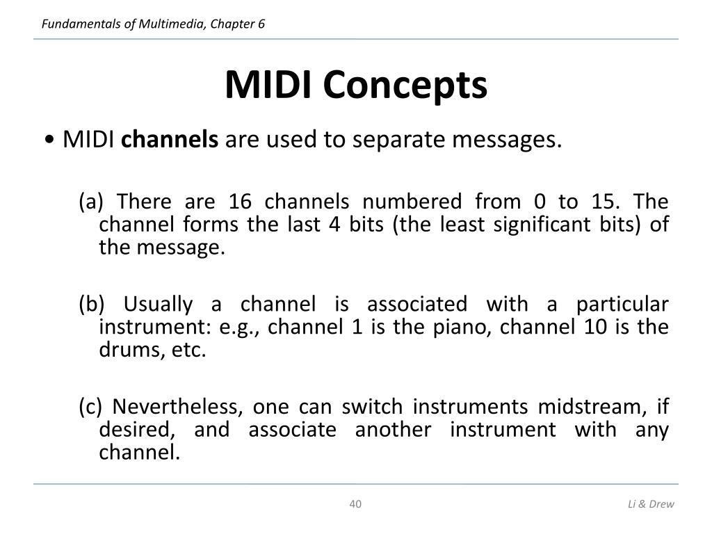MIDI Concepts