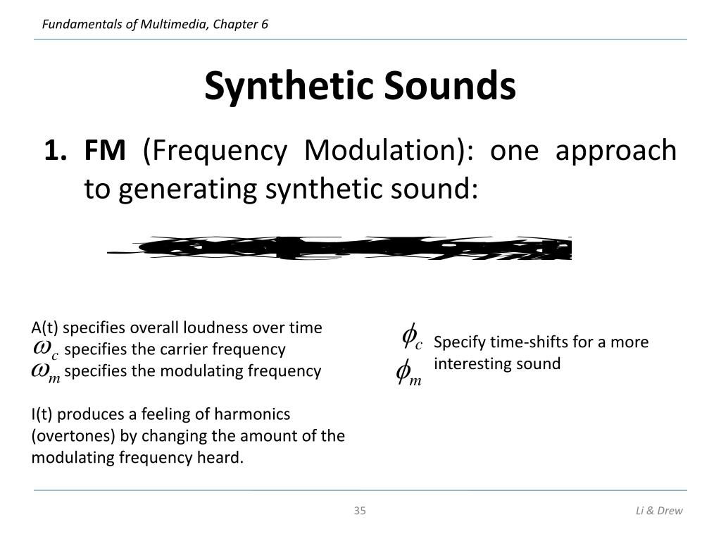 Synthetic Sounds