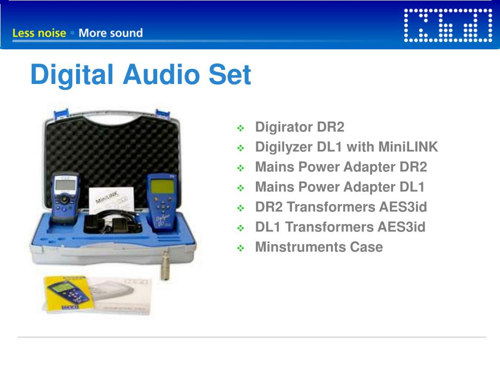 Digital Audio Set