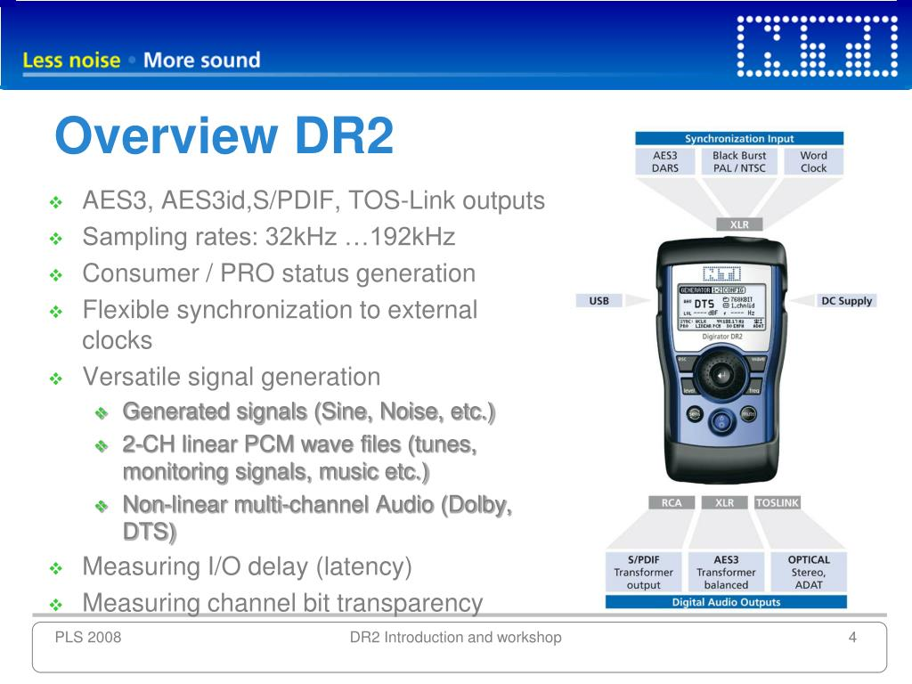 Overview DR2
