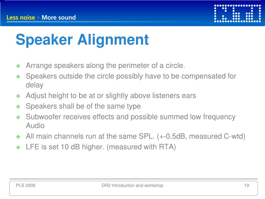 Speaker Alignment