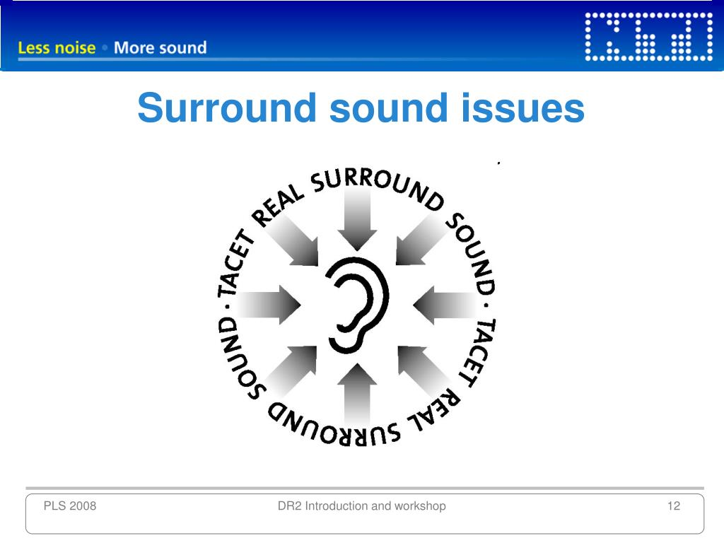 Surround sound issues
