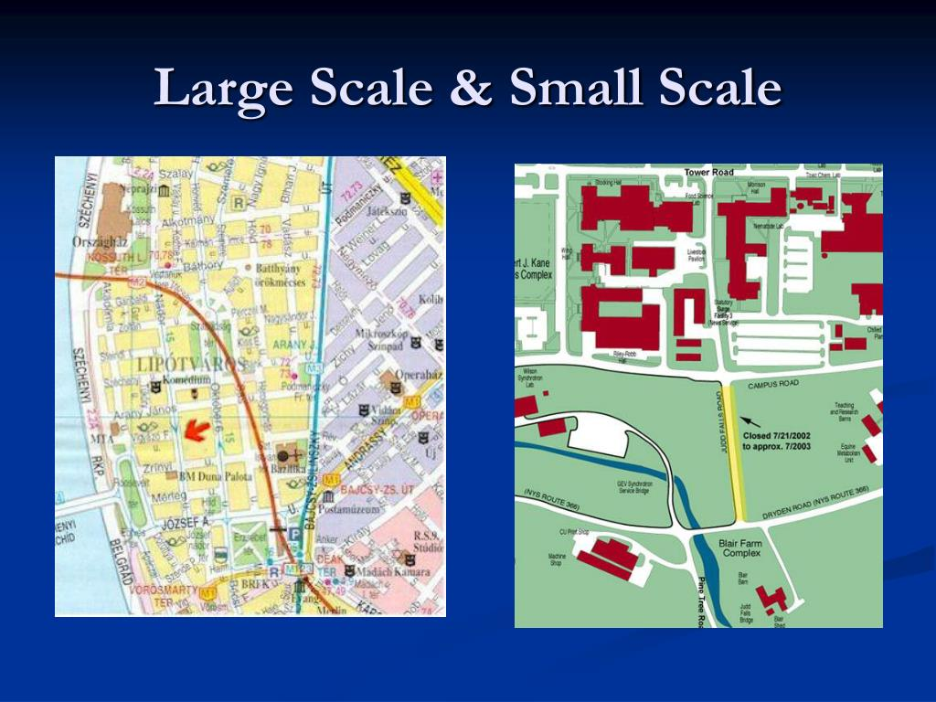 Large Scale & Small Scale