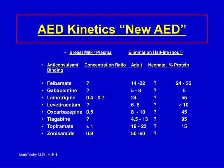 "AED Kinetics ""New AED"""