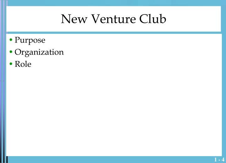 New Venture Club