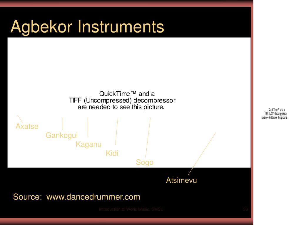 Agbekor Instruments