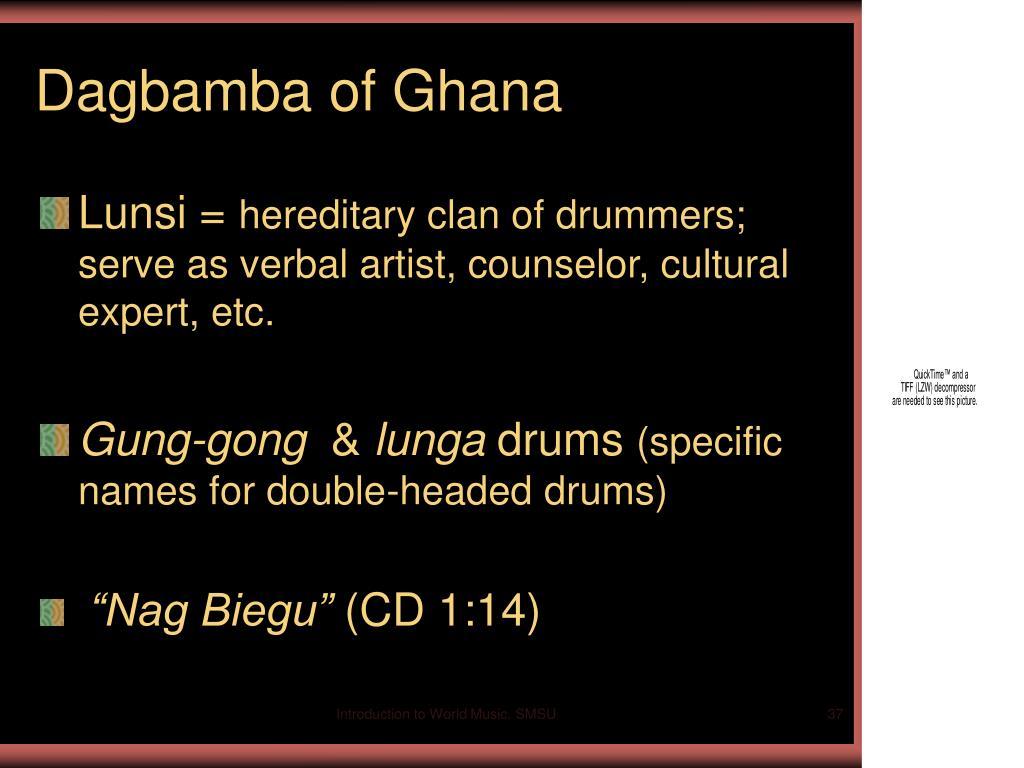 Dagbamba of Ghana