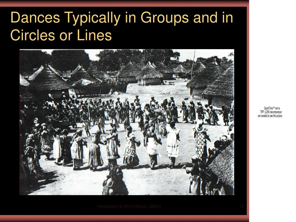 Dances Typically in Groups and in Circles or Lines