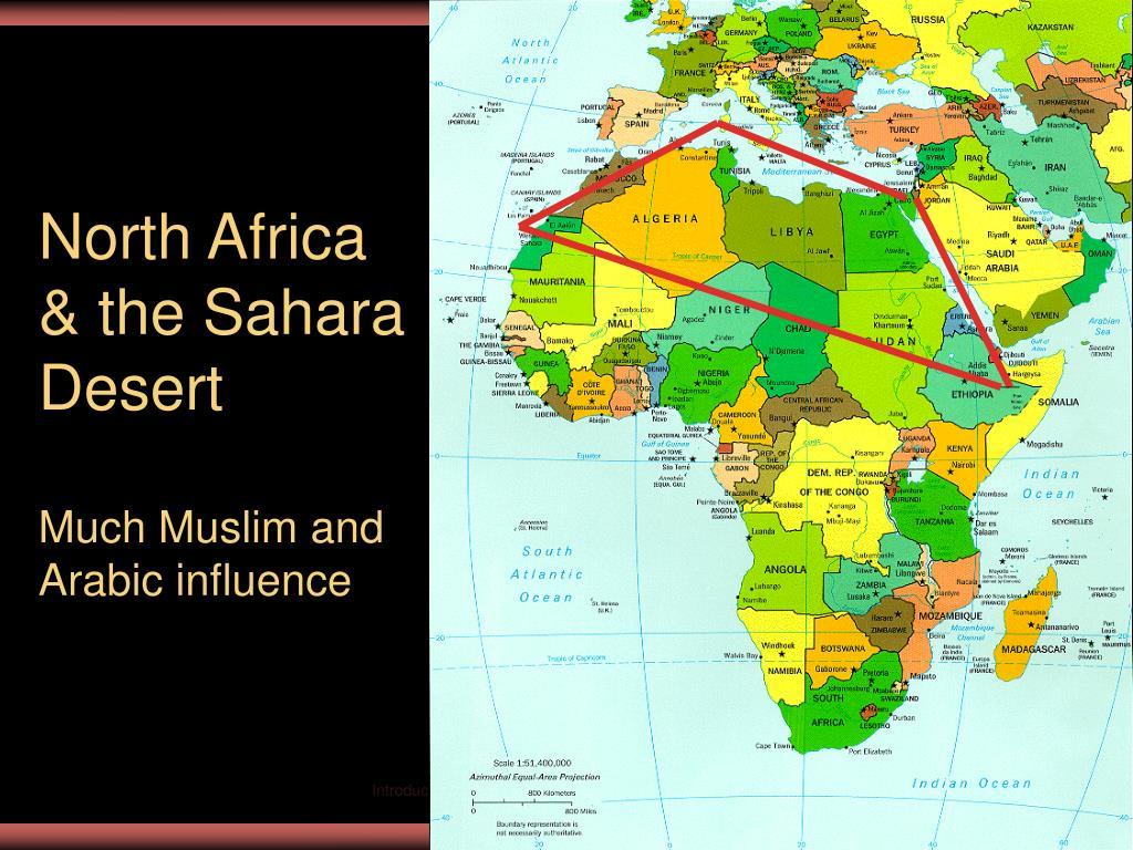 North Africa & the Sahara Desert
