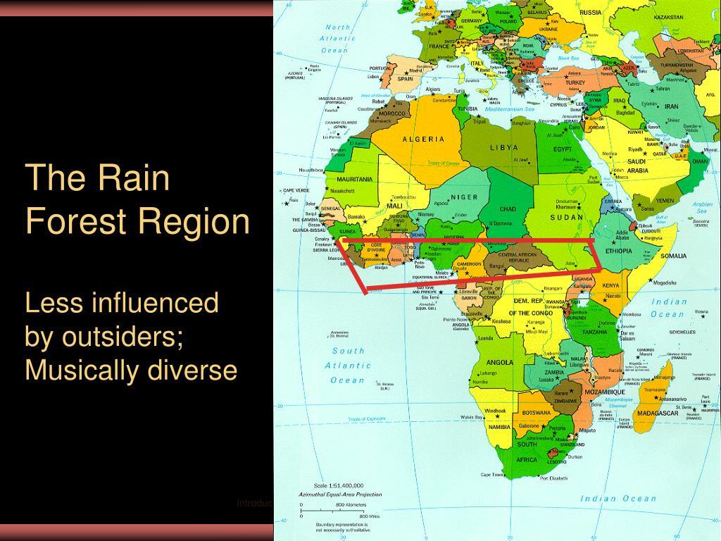 The Rain Forest Region
