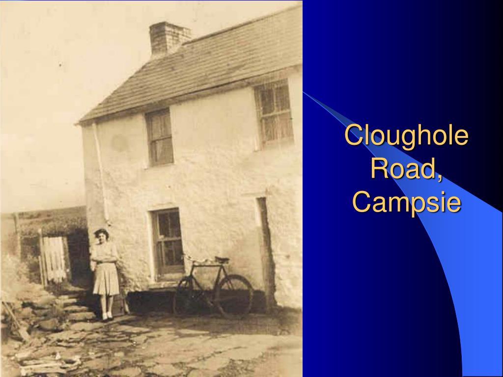 Cloughole Road, Campsie