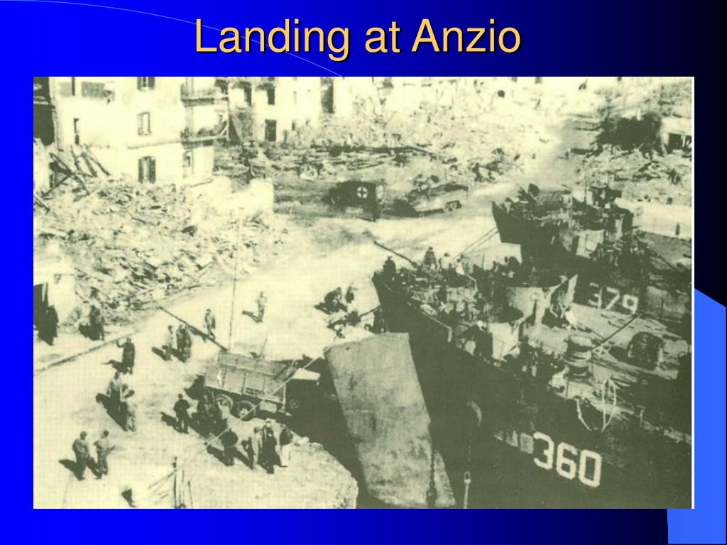 Landing at Anzio