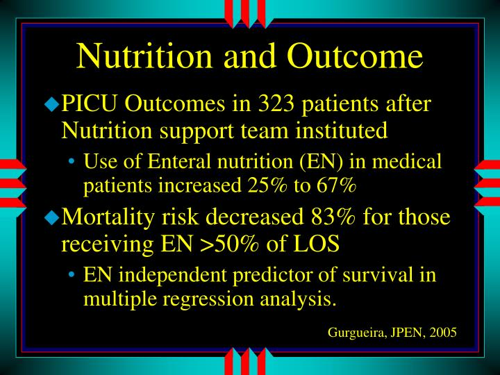 Nutrition and Outcome