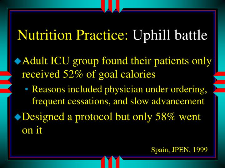Nutrition Practice: