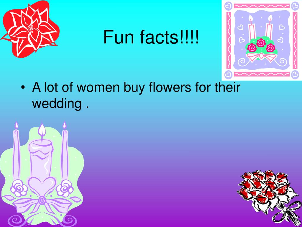 Fun facts!!!!