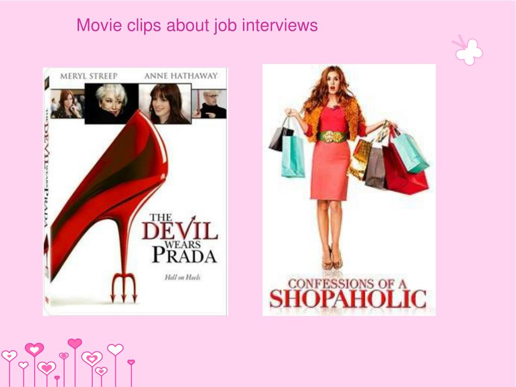 Movie clips about job interviews