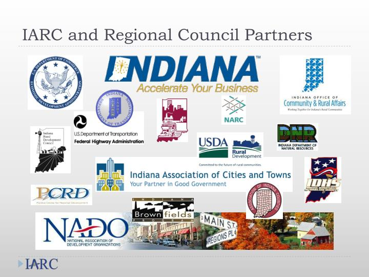 IARC and Regional Council Partners