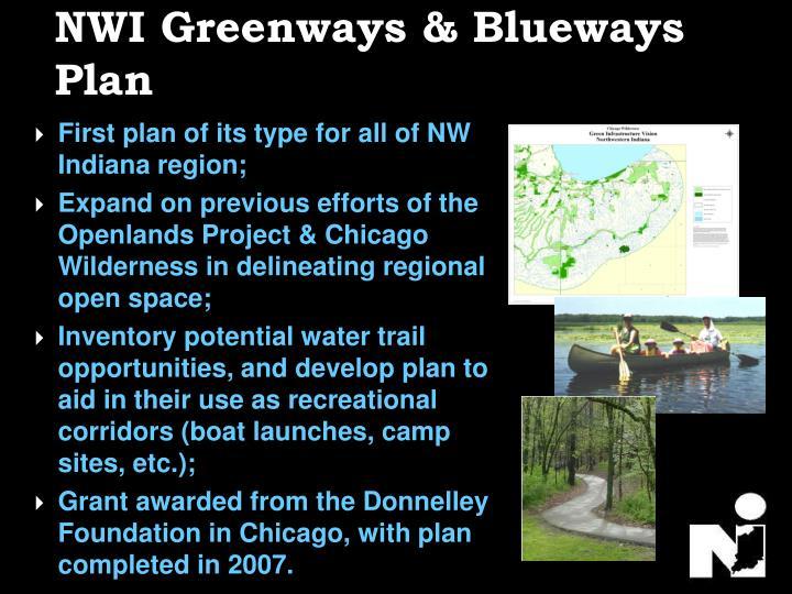 NWI Greenways & Blueways Plan