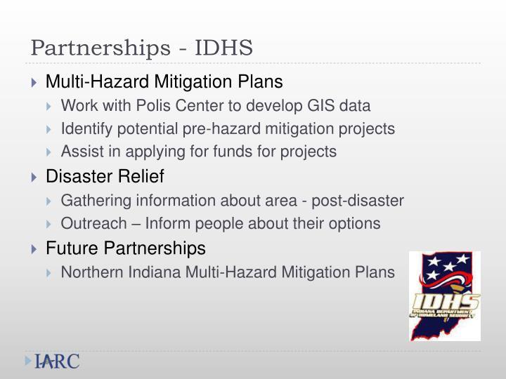 Partnerships - IDHS