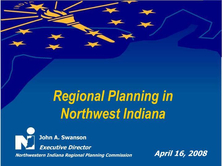 Regional Planning in
