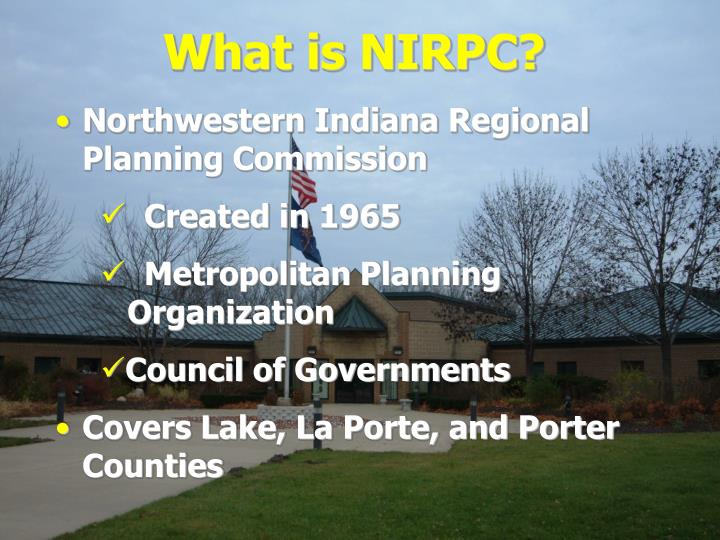 What is NIRPC?